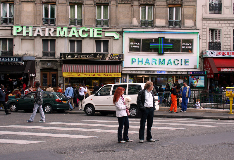 Gee.... thank goodness for that extra sign....  I would have never found the drug store otherwise!