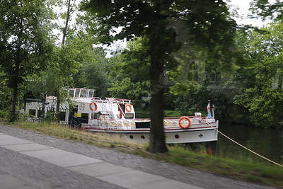 Canal Boat, Berlin, from the bus