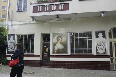 Shop window, Berlin, from the bus