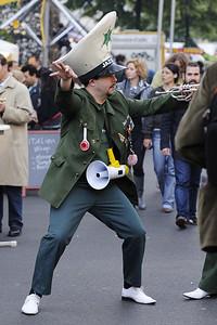 Oom-pah-pah band leader, Berlin