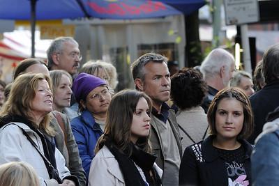 Concert attendees at Savigny-Platz, Berlin