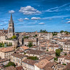 A view of St. Emilion, including it's church, from the top of one of the towers. Couldn't have asked for better weather!