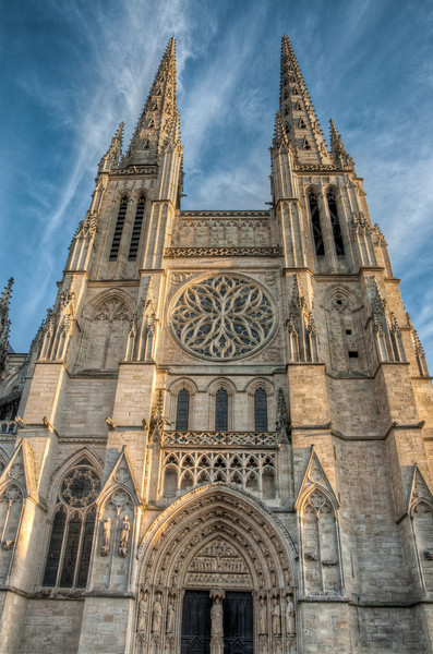 Our last stop was a day in Bordeaux, France. Walking around town we passed by this church.