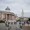 Another view of the National Gallery in London, England.