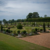 Outside of the Hampton Court Palace was this garden filled with plants and flowers from all over.