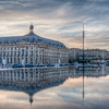 My favorite spot in Bordeaux was Miroir d´eau, a long reflecting pool in front of Place de la Bourse. It was beautiful and made a great photo opportunity.