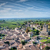 Another view of St. Emilion and the surrounding vineyards.