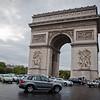 THe Arc de Triumph in Paris.