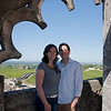 Sasha and I at the top of the bell tower in St. Emilion. It was quite a hike up the stairs to the top, but the view was definitely worth it.