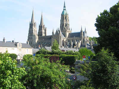 The Cathedral of Bayeux, nearly a thousand years old