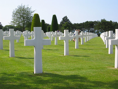 Countless American boys buried in the foreign soil they freed