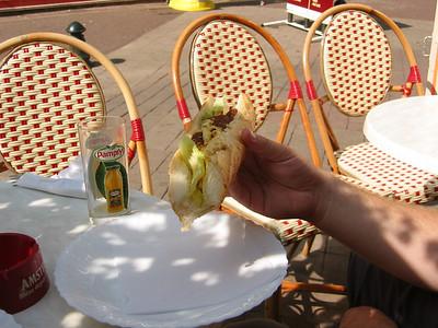 Omellete Sandwich!!  Mmmmmm