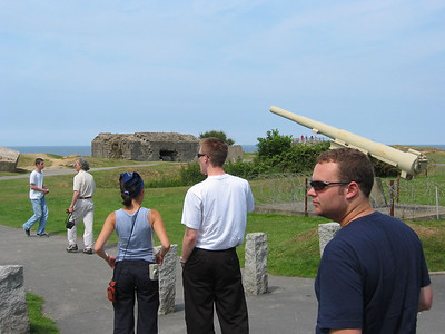 Surveying Point du Hoc