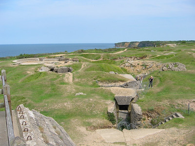 More craters at Point du Hoc