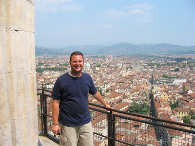 On top of  Il Duomo in Florence