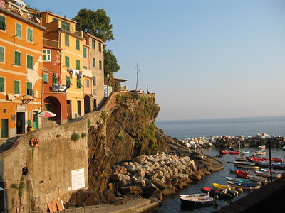 Riomaggiore in Cinque Terre, Italy.    Is there are more idyllic place?