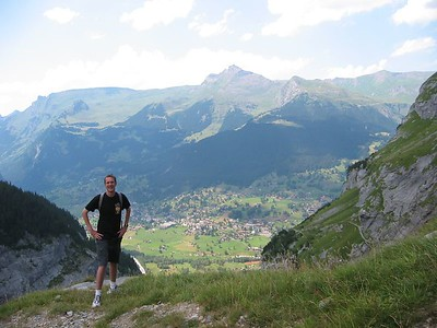 Me, with Grindelwald behind