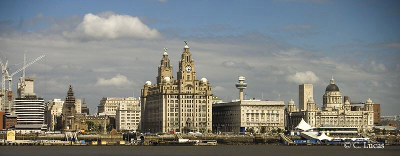 Royal Liver Building, Liverpool, UK