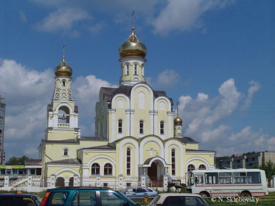 Boris and Gleb Church, Obninsk, Russia  (nonspecific location)