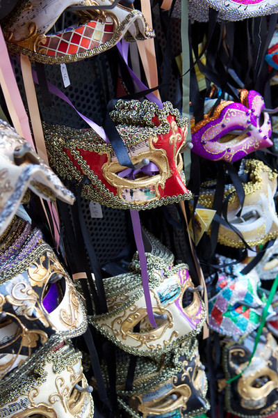 Plenty of masks for sale in Venice.
