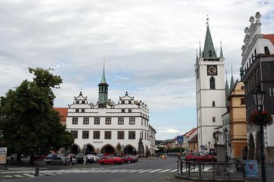 From the beautiful city of Litomerice, Czech Republic.