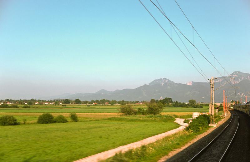 På väg mot Salzburg