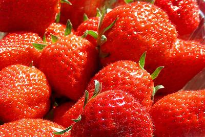 Strawberries were in season!