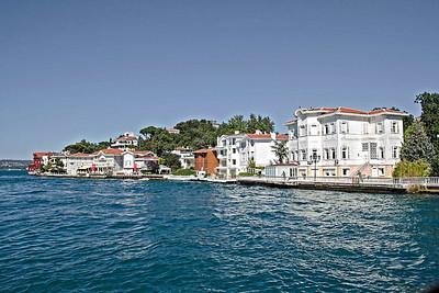 Kanlica Village - prosperous suburb on Asian side of Istanbul