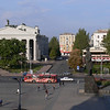 View of Lenin Square and the Drama Theater