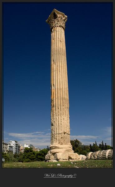 Athens, temple of Zeus