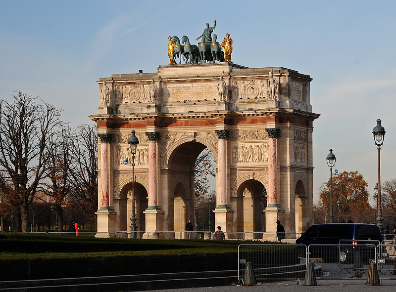 Arc de Triomphe du Carrousel<br /> November in Paris - 2010