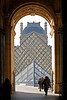 Pyramide du Louvre<br /> November in Paris - 2010