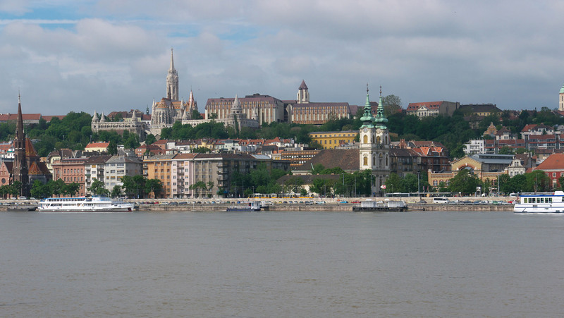 Buda from the Parliament.
