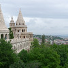 The Fisherman's Bastion adjacent to St. Matthias.