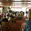 Ship board history lecture.