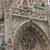 The church has a very intricate exterior.