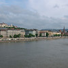 The next morning, a walk to Pest to see St.Stephen's and the Parliament before we sail. A view of Buda from the Chain Bridge.