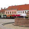 The central square in Osijek.