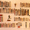 A collection of the batons that the different provinces of Yugoslavia sent to Tito as gifts, every year, on his birthday.
