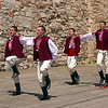 The dancing was excellent and consisted of an older troop of young men,