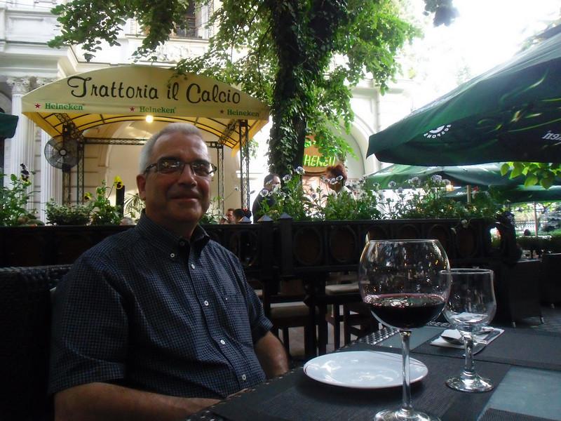 Dinner at .......oh yea....Trattoria il Calcio.