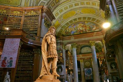 Emporer statue of Karl VI
