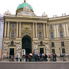 The Hofburg Palace main entrance.