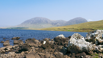 A Lough on the way to Kylemore Abbey