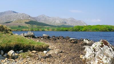 A Lough (lake pronounced Loch) on the way to Kylemore Abbey