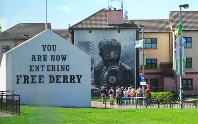 Wall mural in Derry / Londonderry
