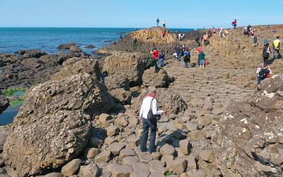 Giant's Causeway basaltic columns