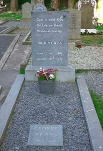 W.B. Yeats' grave
