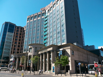 Our hotel, the Europa.  Most bombed hotel in Belfast, thankfully in the past.
