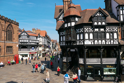 The city of Chester